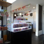 cake & cafe Ecrin - 内観