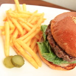 burger house GABURI - ピクルスは外付け