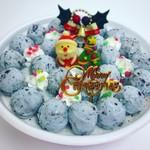 レインボーハット - 料理写真:チョコミントだけのクリスマスケーキ!