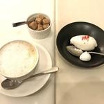 Restaurant LE MiDi - カフェオレと飛騨牛ミルクアイス