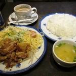 KENT - 豚の焼肉ランチ(ライス大盛)