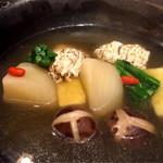 銀平 - ハモとかぶらの煮つけ