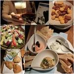 風の蔵 - ギリシャ料理は初めてなので王道コース(2700円)にして飲み放題(+1800円)はギリシャのお酒がウーゾだけだったので付けずに♪ ギリシャ料理は何度か食べたポルトガル料理に似てるトコもあって美味しい!