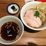 ラーメン屋 トイ・ボックス - 限定「新麦春よ恋の昆布水つけ麺」900円