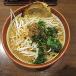 田所商店 - 伊勢味噌 麺大盛り 炙りチャーシュー