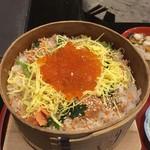 料理旅館 田事 - 鮭の親子せいろめっぱめし