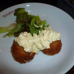 マンジャ ピエーノ - 白身魚とチーズのフライ