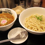 つけめんTETSU - 2017年12月 つけめん(800円)