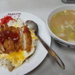 お食事処 ポーク - 料理写真:ポーク風ライスと豚汁
