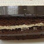珈琲館 - 「オペラ」の定義の金粉はチョコっと(チョコだけに?)乗ってますが、コーヒーの風味は無い??