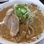 餃子の王将 - ラーメン (豚骨醤油)500円(税別)