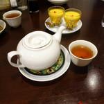 過門香 點 - 5,500円ノミホ付きコース、中国茶