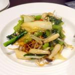 過門香 點 - 5,500円ノミホ付きコース、野菜あんかけ固焼き麺