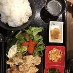 日本橋 逢鳥 - タルタル唐揚げ定食980円