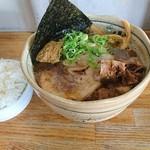 中華そば 田村 - 魚介そば大 煮干し チャーシュートッピング