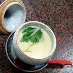 戸田本店 - 「茶碗蒸し」after。。。って、フタ取っただけじゃねーか!