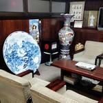 戸田本店 - ロビーの風景。