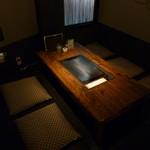 斬九 - 全テーブル鉄板席(カウンターは除く)