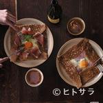 ブレッツカフェ クレープリー - 本番のクレーピエ(クレープ職人)が作る絶品ガレット