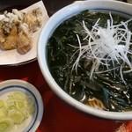 東家 - 牡蠣そば 910円