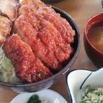 78182845 - 特製ソースカツ丼(ロース)1700円