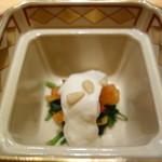 海老亭別館 いきいき亭 - 柿、春菊の白和え