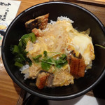 伊予の手造りうどん 名代 つるちゃん - 日替わりランチの 鰻丼