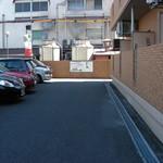 イタリア食堂 MARIA - 駐車場止めにくいっス