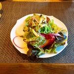 レストラン マイセン - ミニサラダ