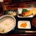 ねりちゃぎ - 焼き魚定食780円(840円税込み)