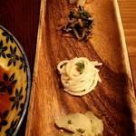 チャリチャリ - 定食  4種 の前菜。