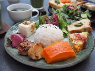 農民カフェ 下北沢店 - 農民ランチセット  1550円