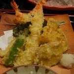 紀州さかなや - 天ぷら盛り合わせ