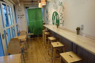フロレスタ 高円寺店 - カフェスペース