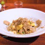 ボッテガ - 白インゲン豆とパンタードの白ワイン煮込み、マルタリアーティ