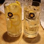 78193509 - レモンたっぷりチューハイ・ハイボール