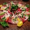 今日の鮮魚のカルパッチョ