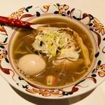 ふるめん - 煮干し醤油 煮玉子入り(950円)