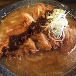 高知ジェントル麺喰楽部 - 味噌スープに追い味噌‼︎(^^;;