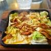 カフェテラスサイホン - 料理写真:焼肉定食ジュ~!