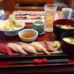 鮨・海鮮料理 波奈 - 波奈おすすめ御膳  1490円税込  ドリンク別