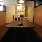 居酒屋さんぱち - 完全個室型です。