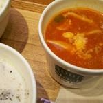 スープストックトーキョー - 前回食べた鶏肉のカチャトーラ  トマトの酸味があってご飯よりパンのが合いそう