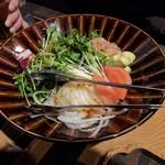 おっきゃがり - 生海老サラダ