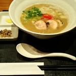 麺や いま村 - 鶏煮干しらぁめん(醤油) 850円