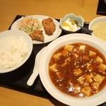 中国菜苑チャイナカクテル - 料理写真:マーボー豆腐セット 900円