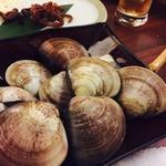 日本酒バル JINSUKE - 蛤のしゃぶしゃぶ