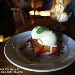 chano-ma - 苺と練乳のフレンチトースト