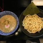 つけ麺専門店 二天一流 - つけ麺(極太麺)