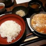 Torisukiyakiharashino - 特製親子丼【2017.12】
